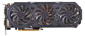 Gigabyte 4Gb PCI-E DDR-5 Gigabyte GV-N980G1 GAMING-4GD (RTL) DualDVI+HDMI+3xDP+SLI GeForce GTX980