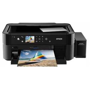 Epson L850 (A4, струйное МФУ, 37 стр/мин, 5760 optimized dpi, 6 красок, USB2.0, печать на CD/DVD)