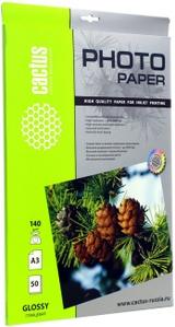 Cactus CS-GA314050 (A3, 50 листов, 140 г/м2) бумага глянцевая