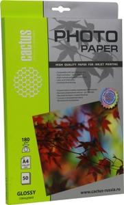 Cactus CS-GA418050 (A4, 50 листов, 180 г/м2) бумага глянцевая