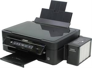 Epson L366 (A4, струйное МФУ, 33 стр/мин, 5760 optimized dpi, 4 краски, USB2.0, WiFi)