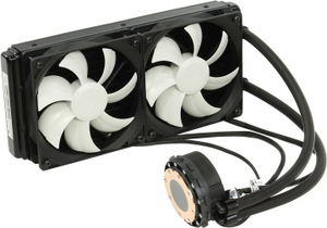 ThermalTake CLW0224-B Water 3.0 Extreme S вод.охл (4пин, 1155/1366/2011/AM2-FM1, 20дБ, 1000-2000об/мин)