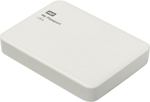 "Western Digital WD WDBNFV0020BWT-EEUE My Passport Ultra USB3.0 Drive 2Tb White 2.5"" EXT (RTL)"