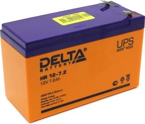 Delta Аккумулятор Delta HR12-7.2 (12V, 7.2Ah) для UPS