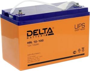 Delta Аккумулятор Delta HRL12-100 (12V, 100Ah) для UPS