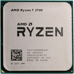 CPU AMD Ryzen 7 2700 BOX (YD2700B) 3.2 GHz / 8core / 4+16Mb / 65W Socket AM4