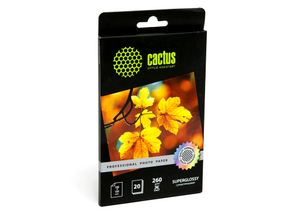 Cactus CS-MA619050 (10x15см, 50 листов, 190 г/м2) бумага матовая