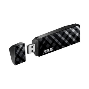 Asus USB-N53 Dual Band Wireless N USB Adapter ( 802.11b/g/n , USB2.0 , 300Mbps )