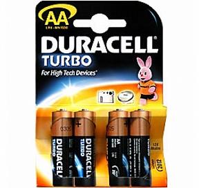 Duracell MN1500-12 (LR6) Size AA, 1.5V,щелочной (alkaline) уп. 12 шт