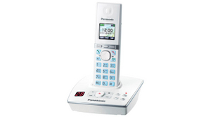 Panasonic KX-TG8061RUW White р/телефон (трубка с цв.ЖК диспл.,DECT, А/Отв)