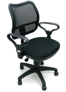 Ch-799AXSN/Black Кресло (черное 26-28)