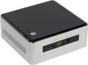 Intel NUC Kit BOXNUC5I3RYH (Core i3-5010U, 2.1 ГГц, miniHDMI, miniDP, GbLAN, M.2, 2DDR-III SODIMM)