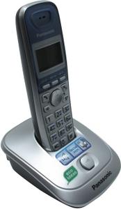 Panasonic KX-TG2511RUS Silver-Blue р/телефон (трубка с ЖК диспл., DECT)