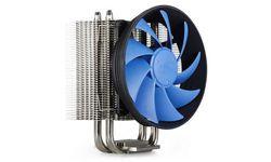 Deepcool DP-MCH4N-GMS40 GAMMAXX S40 (4пин,775/1155/1366/2011/AM2-FM2,900-1600об/мин,17.8-26.1 дБ,Al+тепл.трубки)