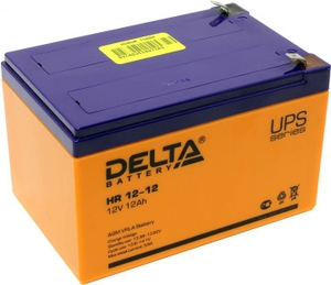 Delta Аккумулятор Delta HR12-12 (12V, 12Ah) для UPS