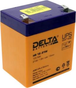 Delta Аккумулятор Delta HR12-21W (12V, 5Ah) для UPS