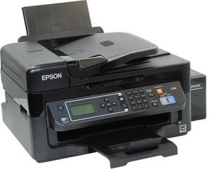 Epson L566 (A4, струйное МФУ, 33 стр/мин, 5760 optimized dpi, 4краски, USB2.0, ADF, WiFi, сетевой)