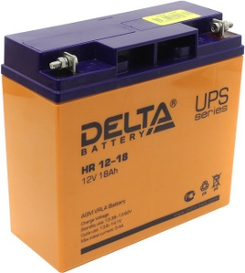Delta Аккумулятор Delta HR 12-18 (12V, 18Ah) для UPS