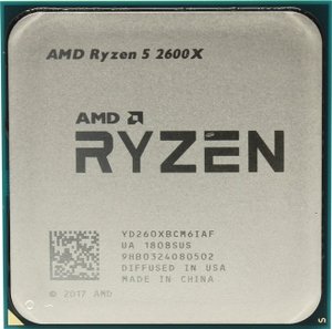 CPU AMD Ryzen 5 2600X BOX (YD260XB) 3.6 GHz / 6core / 3+16Mb / 95W Socket AM4