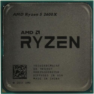 CPU AMD Ryzen 5 2600X (YD260XB) 3.6 GHz / 6core / 3+16Mb / 95W Socket AM4