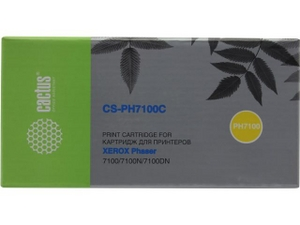 Cactus CS-PH7100C Cyan для Xerox Phaser 7100/7100N/7100DN