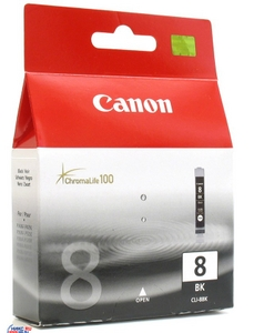 Canon Чернильница Canon CLI-8BK Black для PIXMA IP4200/5200/6600D, MP800