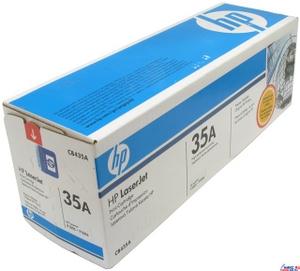 Hewlett-Packard Картридж hp CB435A Black для hp LJ P1005, P1006