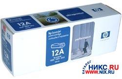 Hewlett-Packard Картридж hp Q2612A для hp LJ 1010/1012/1015/1018/1020/1022 (N/NW)/3015/3020/3030