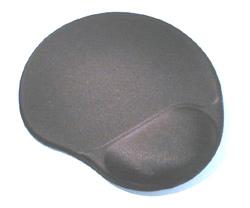 Коврик для мыши с гелевой подушкой под запястье (типа клякса)