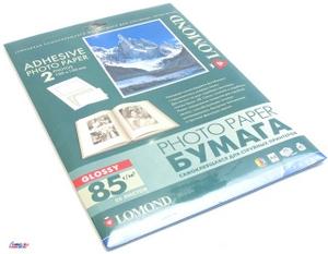 Lomond 2412033 (A4, 25 листов, 2 части, 85 г/м2) бумага самоклеящаяся