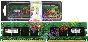 Kingston модель не определена DDR2 256Mb 533MHz