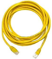 Patch Cord UTP кат.5е 3м, желтый